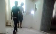 قذيفة سورية تخترق جدران منزل في الرمثا