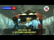 فيديو : ميسي ودي ماريا يسخران من تعليمات تاتا مارتينو
