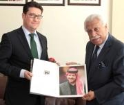 بلتاجي يستعرض انجازات الأمانة أمام السفير الهنغاري