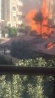 بالفيديو الدفاع المدني يتأخر نصف ساعة عن حريق مهول التهم بنايه كامله في عبدون