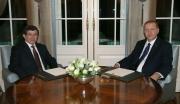 أردوغان يكلف أوغلو رسميا بتشكيل الحكومة