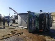 أصابة شخص بحادث تدهور «قلاب» على طريق ياجوز- الزرقاء