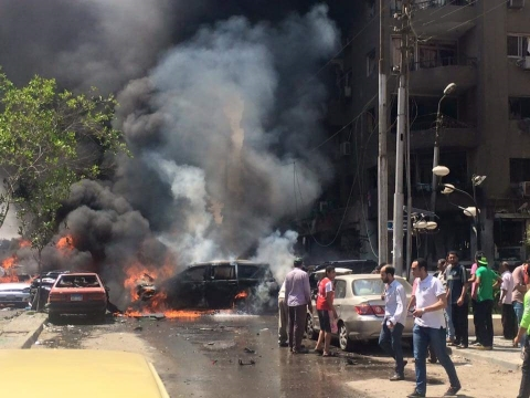 القاهرة..إصابة النائب العام المصري بمحاولة اغتيال