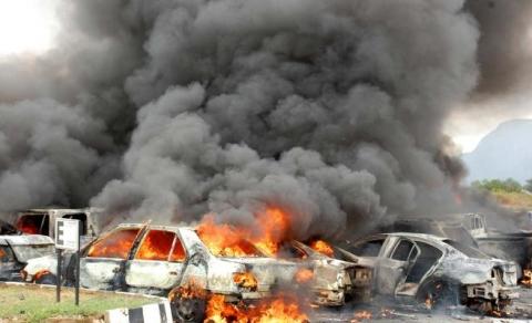 5 قتلى بهجوم انتحاري في درنة شرق ليبيا